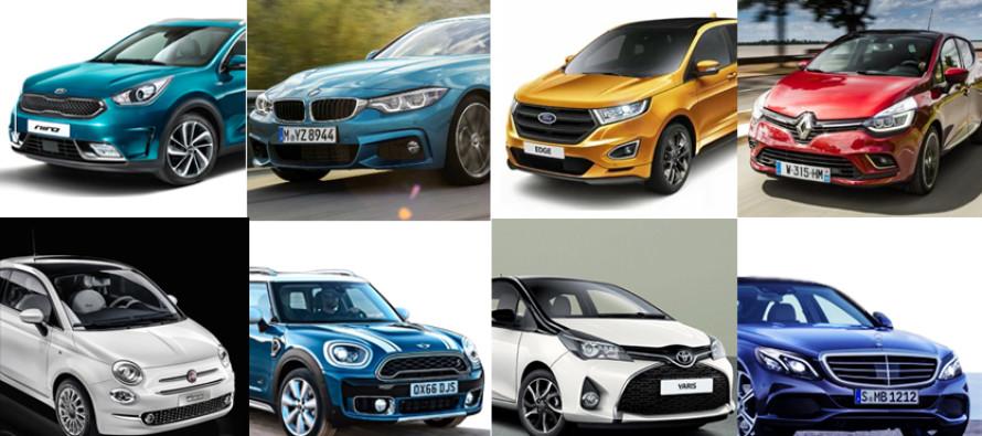 Auto, avvio d'anno positivo per il mercato europeo, +7,1%